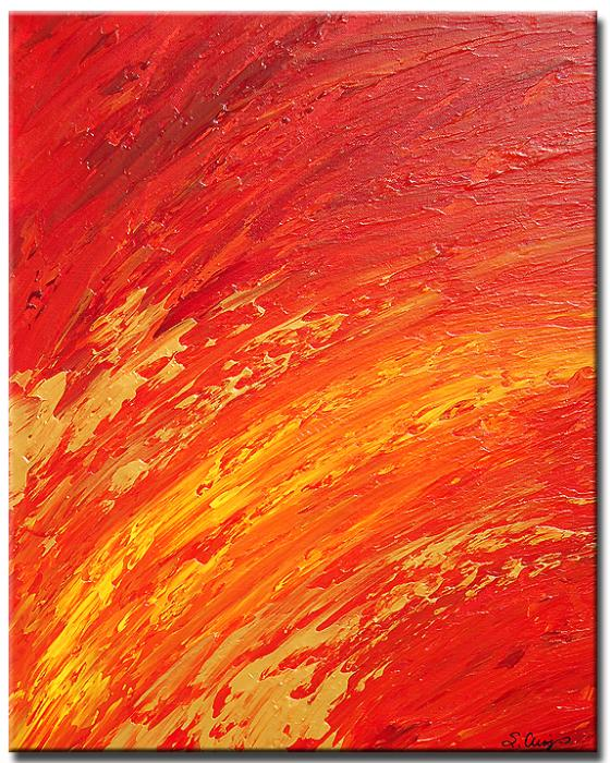 Yessy > ABSTRACT ART BY SHARON CUMMINGS GALLERY > Solar